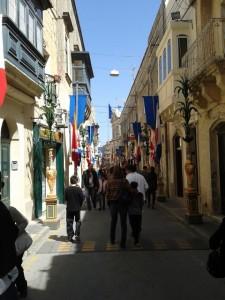 Kleine Gasse in Rabat