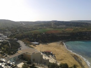 Strandblick aus der Suite